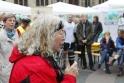 Annelie Keil, Bremer Gesundheitswissenschaftlerin und Schirmmutter der Bremer Aktion spricht das erste Grußwort…