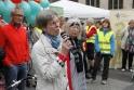 Ingelore Rosenkötter, Bremer Gesundheitssenatorin a.D., spricht das zweite Grußwort.